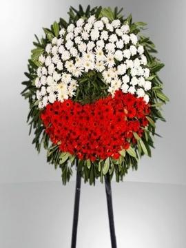 Cenaze Çelengi 140 Adet Çiçek
